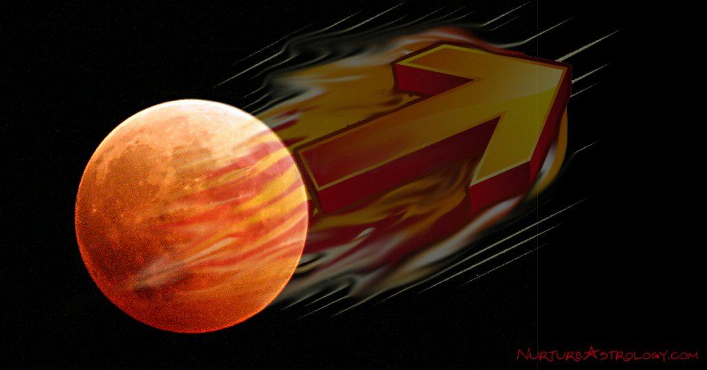 Mars' full steam ahead